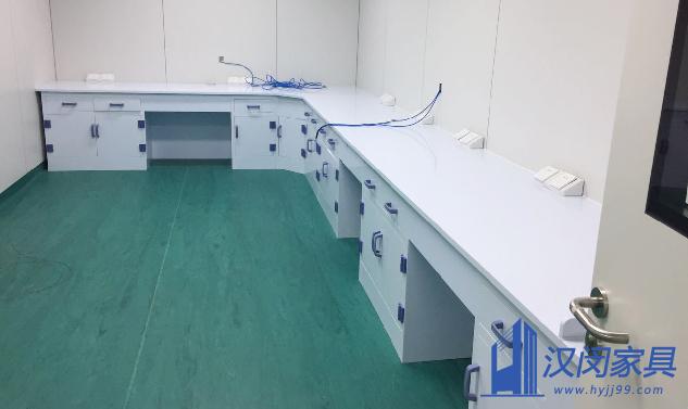 上海某医学检验所有限公司PP实验台定制案例