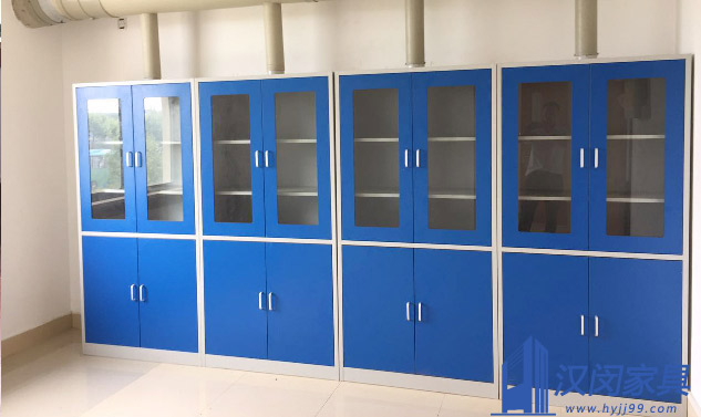 华昌聚合物有限公司实验室家具定制案例