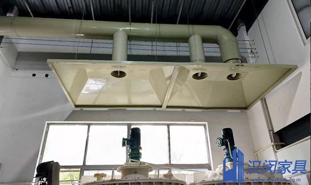 嘉定巨石化工通风系统定制案例