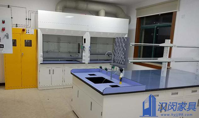 上海华谊树脂有限公司实验室家具定制案例