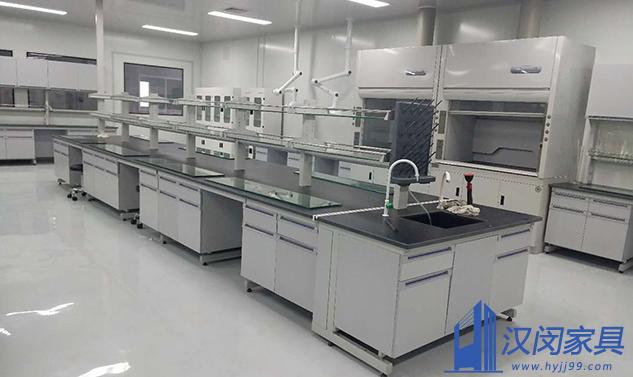 上海恒进动力科技有限公司理化生实验室家具定制案例