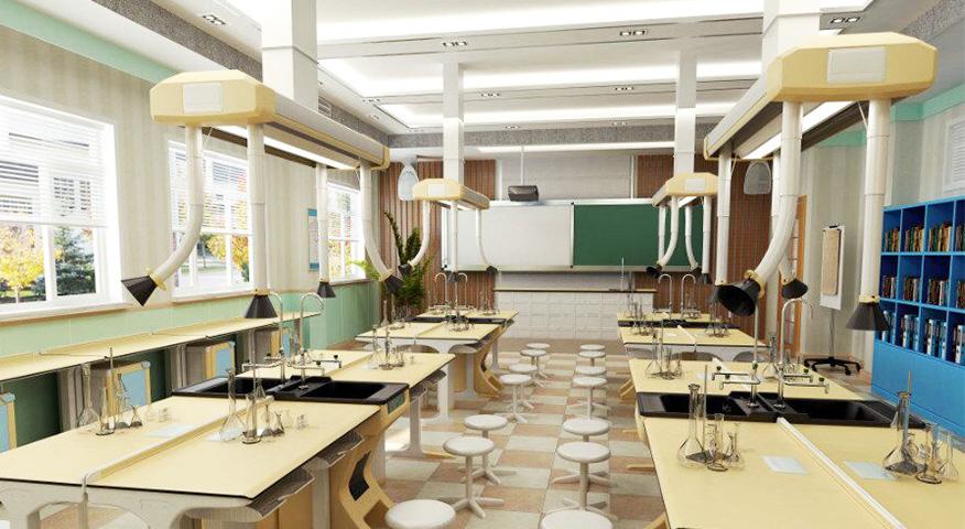 复旦大学附属第三外语学校化学实验室