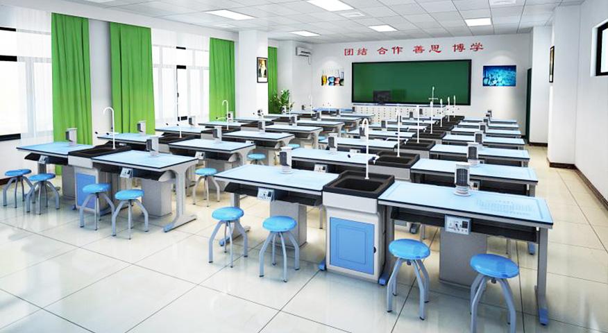 上海育华中学物理实验室