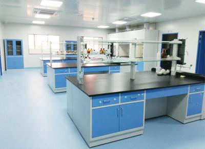 海口某药业实验室设备定制案例
