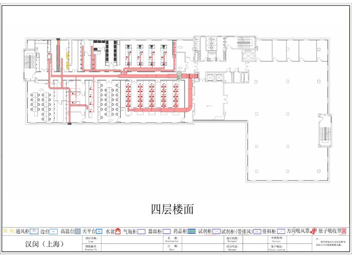 上海康码生物实验室规划设计施工项目