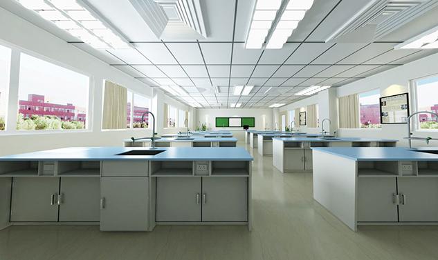 福山正达外国语学校实验室家具定制案例
