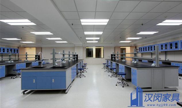 濮阳惠成电子实验室家具工程和实验室通风管道工程定制案例