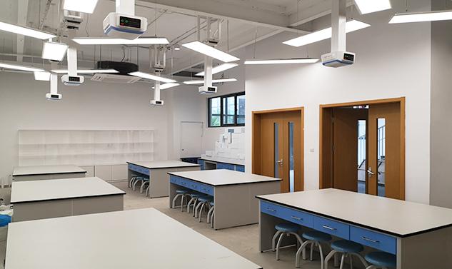 上海未来国际学校实验室整体定制案例