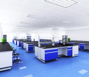 钢木实验台医院双面中央平台桌