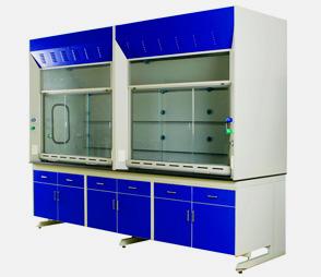 实验室排风柜耐酸碱钢木抽风柜