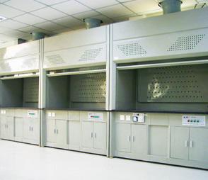 化验室全钢通风柜落地通风橱