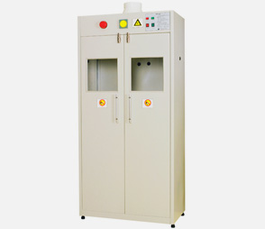 实验室钢瓶柜医院双气瓶柜工厂