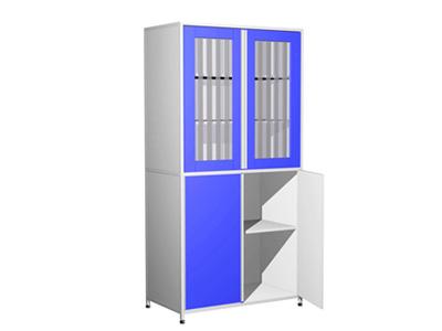 铝木药品试剂柜定做实验室样品柜