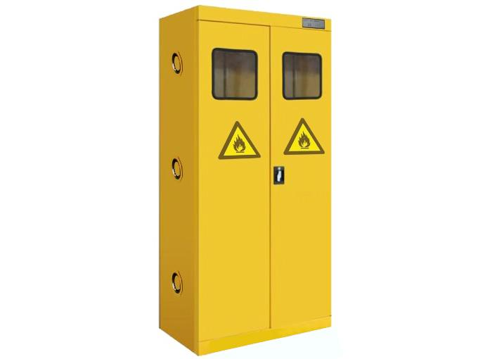 汉闵实验智能报警排风全钢气瓶柜