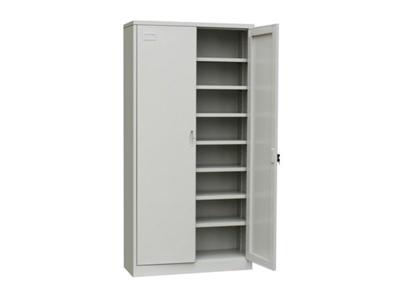 双门资料柜档案柜钢制储物柜带锁