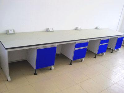 钢木结构实验台理化实验室边台