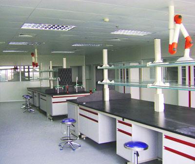 实验台制作带水柜中央实验桌