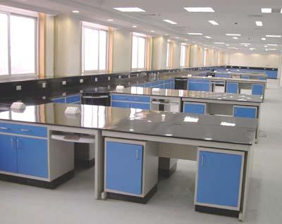 实验室钢木桌子上海中央实验平台