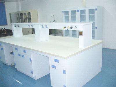 PP实验台双人双面中央操作桌
