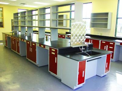PP实验台多人双面实验室工作台
