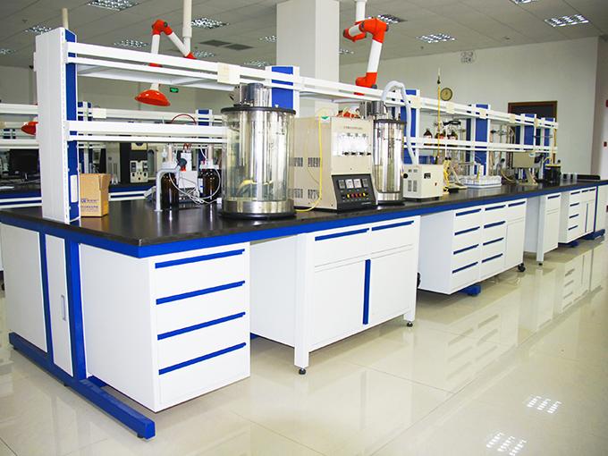汉闵钢木实验台中央实验台柜
