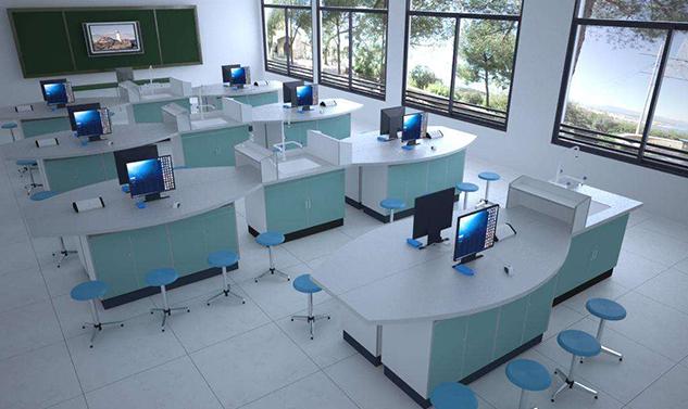 学生电脑实验桌培训实验台实验家具